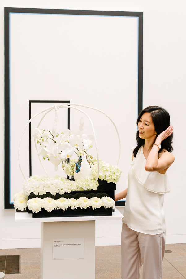Bouquets to Art at the DeYoung Museum in San Francisco
