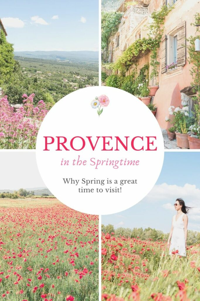 Springtime in Provence in the South of France