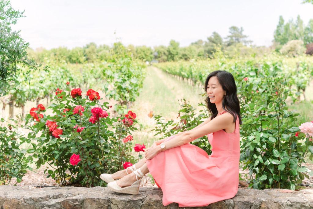 Sonoma Vineyard Rose Garden