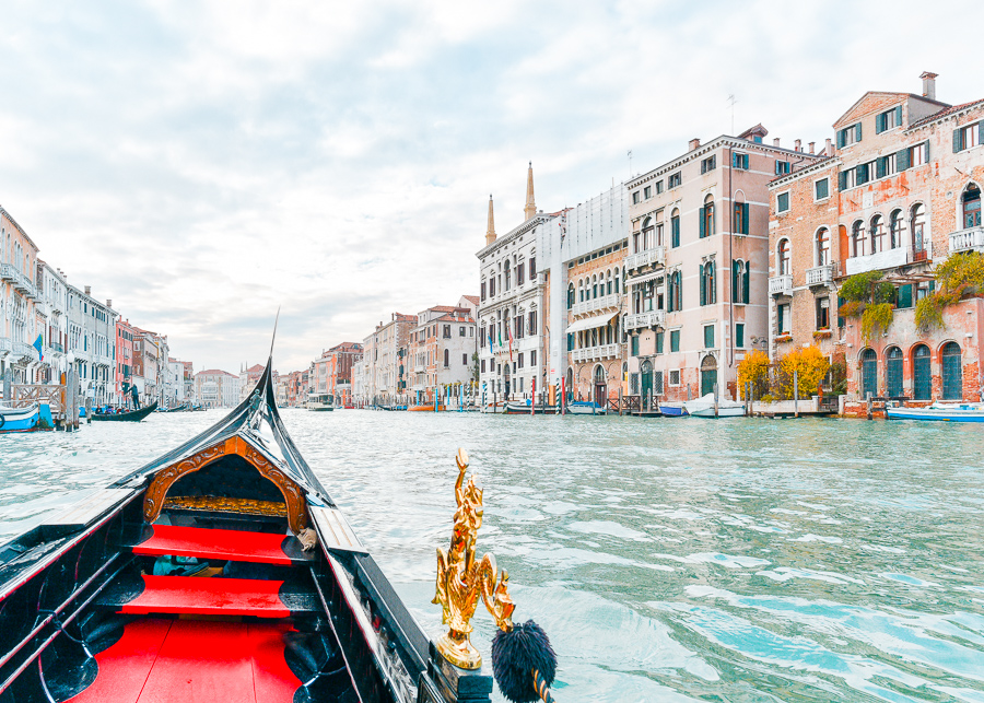 Venice Grand Canal Gondola