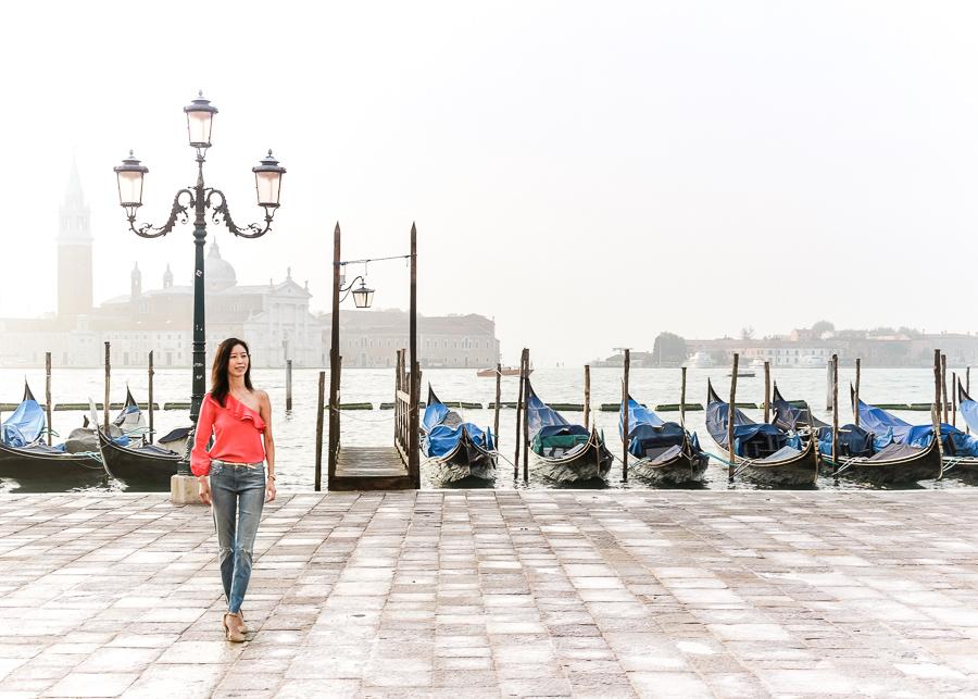 Venice Saint Marks Square Piazza San Marco Gondolas