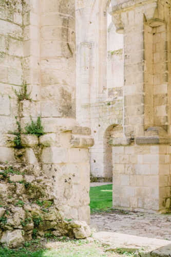 Jumieges Abbey in Normandy France