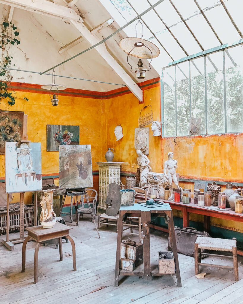 Period Artist Studio in Giverny