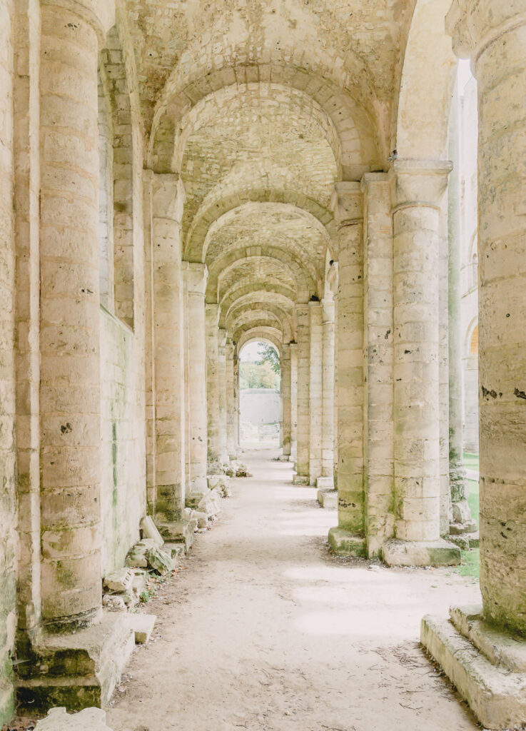 The Beautiful Ruins of the Jumieges Abbey