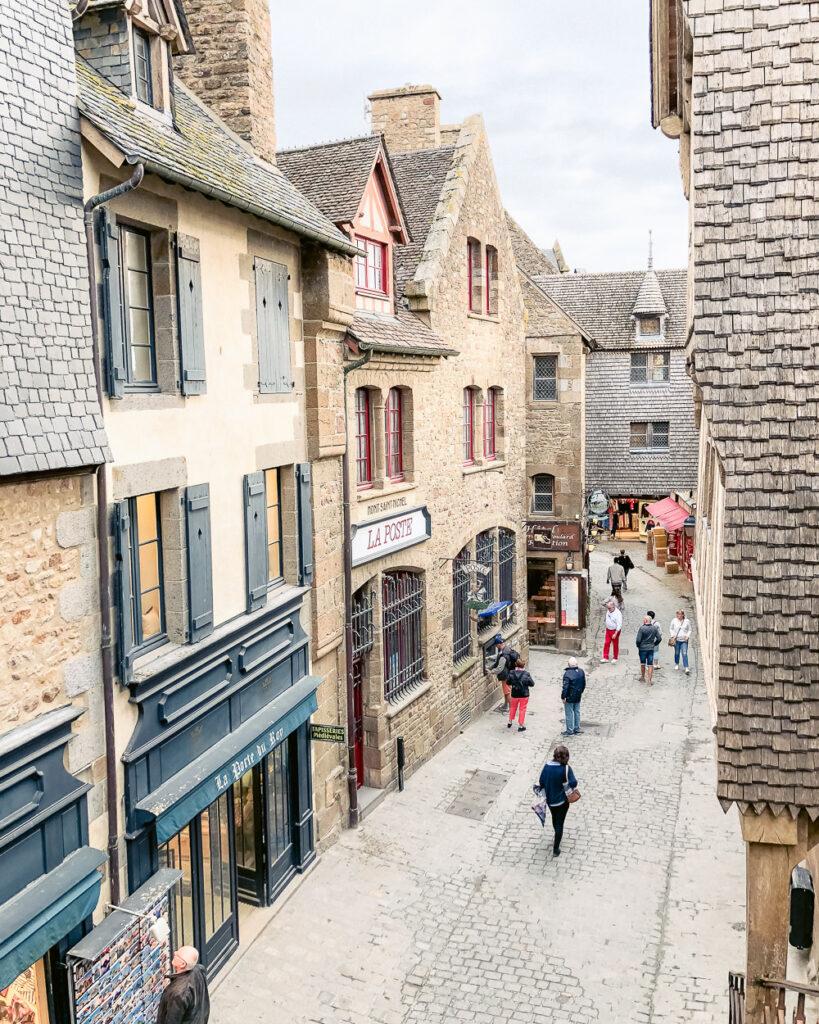 Mont St Michel Village Street