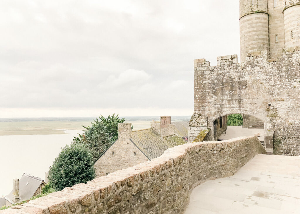 On the Mont St Michel Island