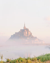 Misty Morning at Mont Saint Michel