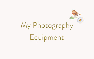 My Photography Equipment cover graphic