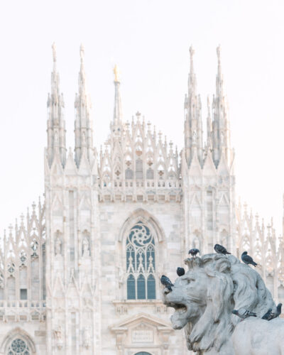 The Milan Duomo in Italy