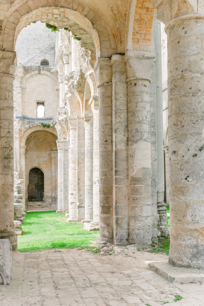 The Ruins of the Jumieges Abbey in Normandy France, considered one of the most beautiful in France