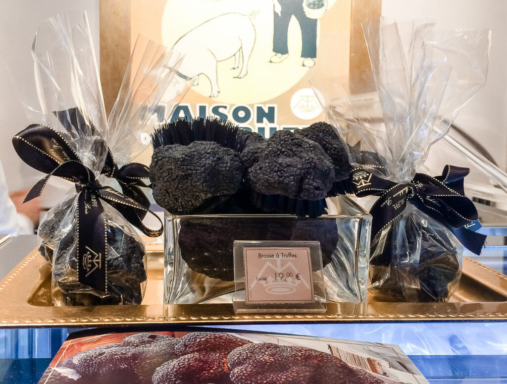 Seasonal foods such as truffles - The Best Things About Christmas in Paris France
