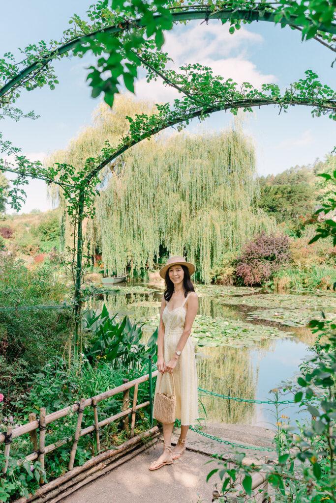Japanese Garden in Monet's Garden in Giverny France