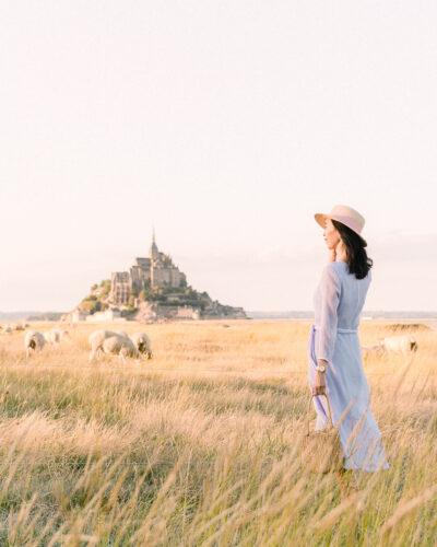 Mont Saint Michel in Normandy, France