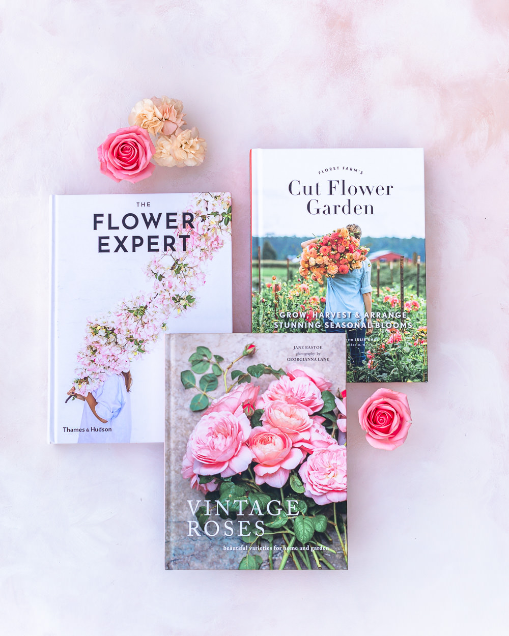 Beautiful Books for Flower Lovers