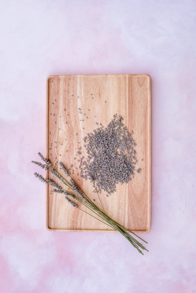 Dried lavender buds - How to Harvest and Dry Lavender