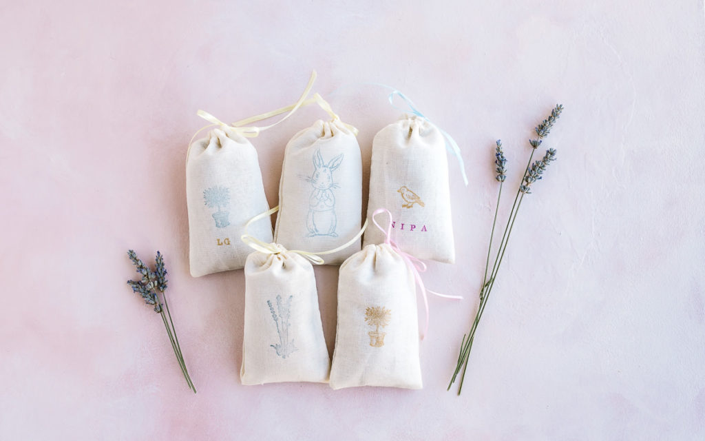 How to make cute DIY lavender sachets great for gifts!