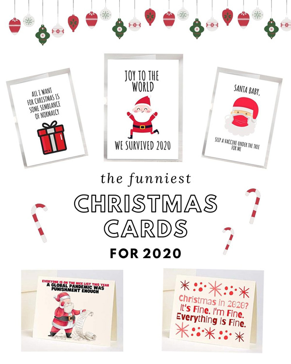Funny Christmas Cards for 2020