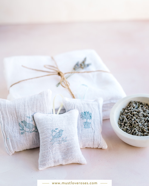 DIY Lavender Sachets - How to Harvest and Dry Lavender