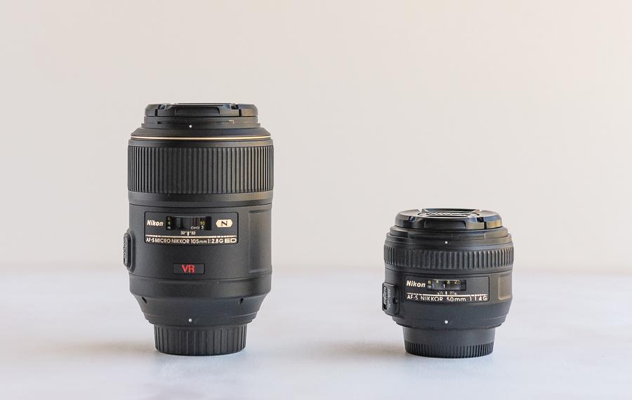 Lens comparison standard vs macro lens - Best Lens for Flower Photography