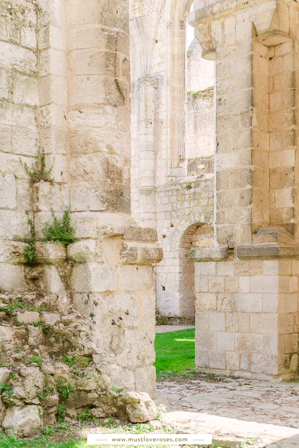 The Ruins of the Jumieges Abbey in Normandy France