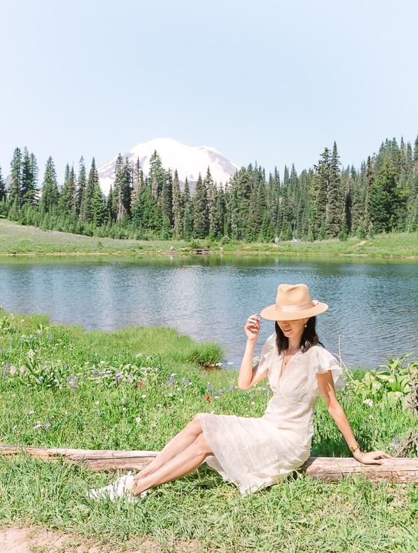 Tipsoo Lake at Mount Rainier National Park